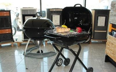 showroom arredamento esterno, barbeque